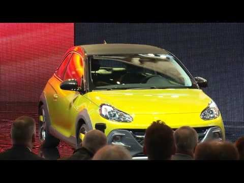 2015 Opel Adam Grand Slam.