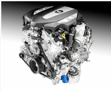 2016 GM V6 twin-turbo engine