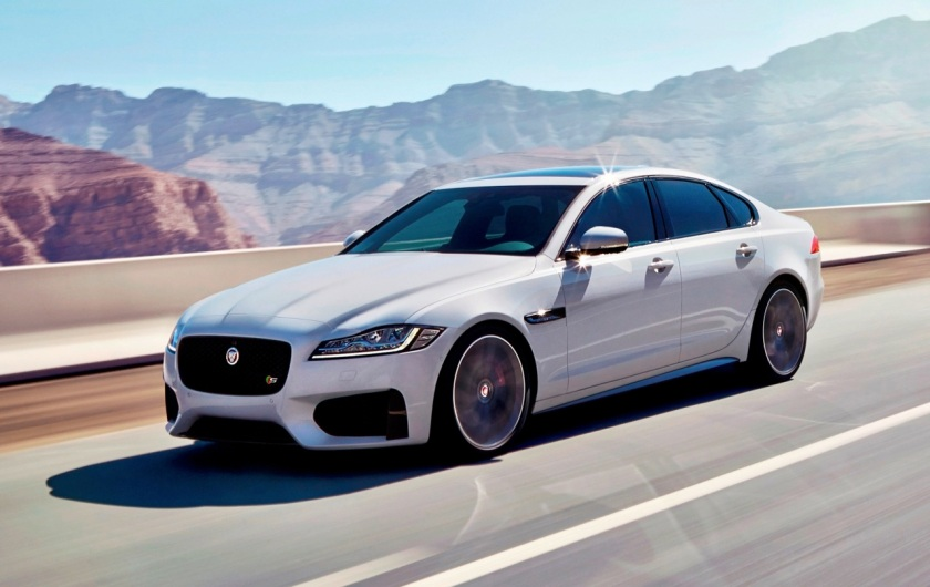 The 2016 Jaguar XF - image via performancedrive