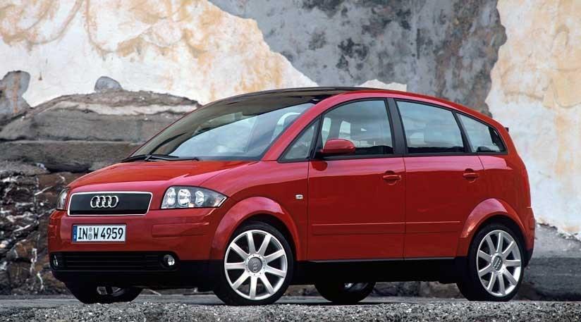 Audi A2. Image via nordschleifeautoblahg