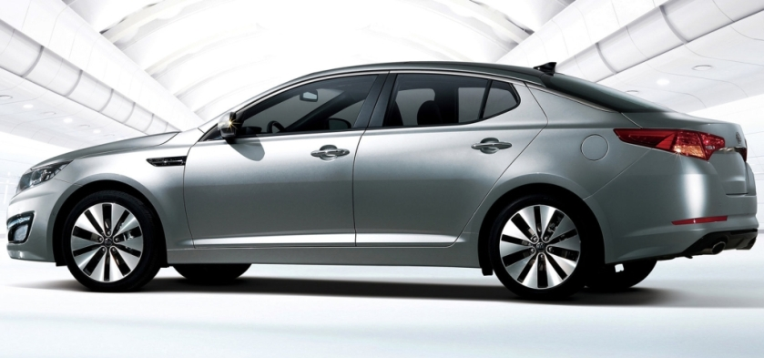 Why isn't this car selling in Europe? Kia Optima - image via cockpitautomovel
