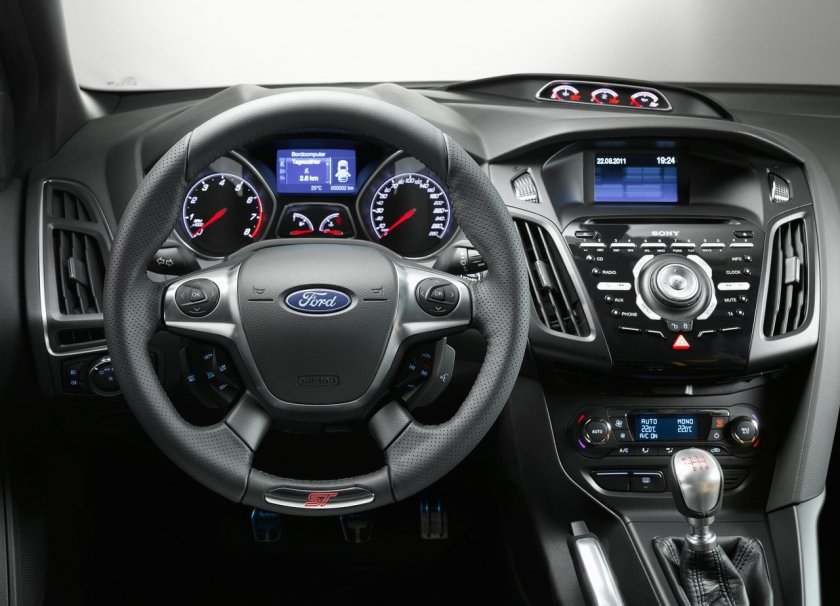 Ford Focus Dashboard Driven To Write