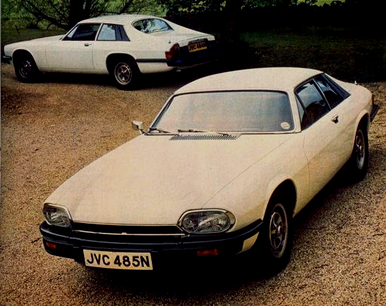 Two pre-production XJ-S' at the car's Cotswold press launch