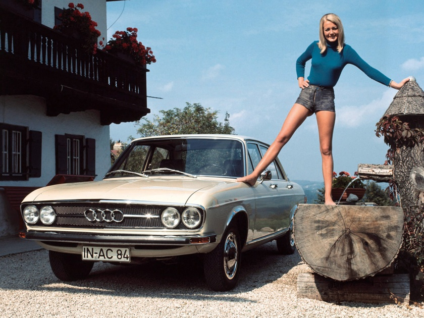 1972 Audi 100. This design still looks good. The quality of construction and production methods dominate. Image: carbase.com