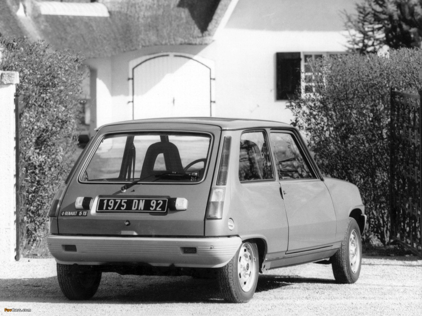 1975 Renault 5. Image: favcars.com