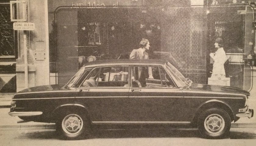 1975 Simca 1301: best car of Vicar´s week.