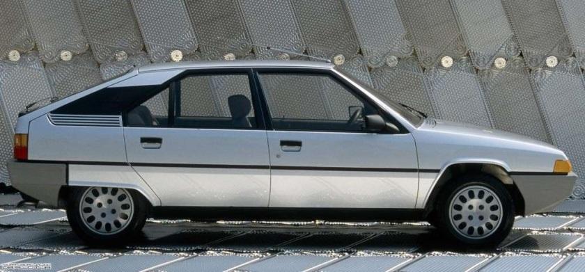 1985 Citroen BX: www.productioncars.com