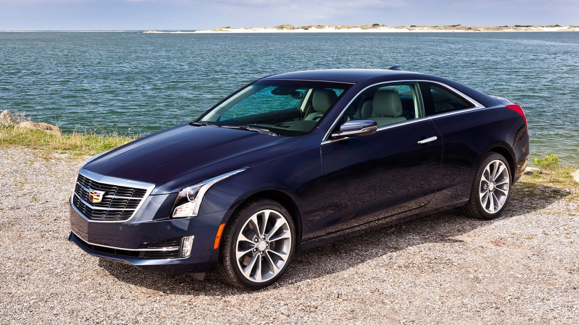 2015 Cadillac ATS in its standard guise. Image: 2016automotive.com