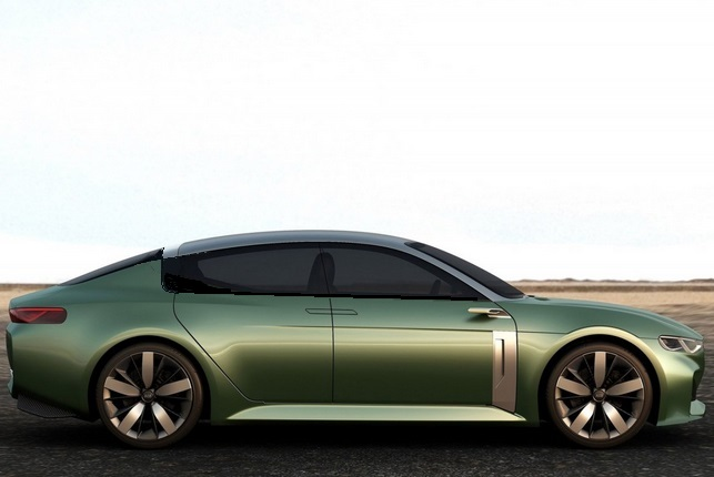 2015 Kia Novo side profile revised window