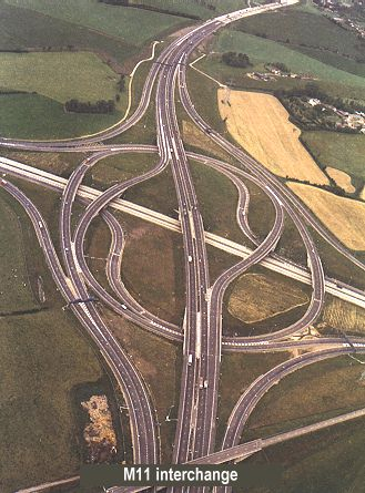 http://www.ciht.org.uk/motorway/m25papers2.htm. The M25 and M11 interchange