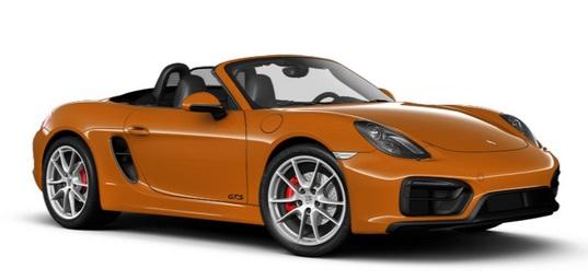 2015 Porsche Boxster GTS.