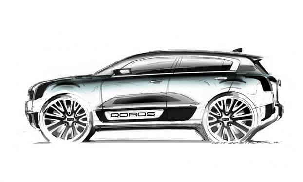 2015 Qoros 2: big on wheels and short on details, small on themes. Image: Qoros