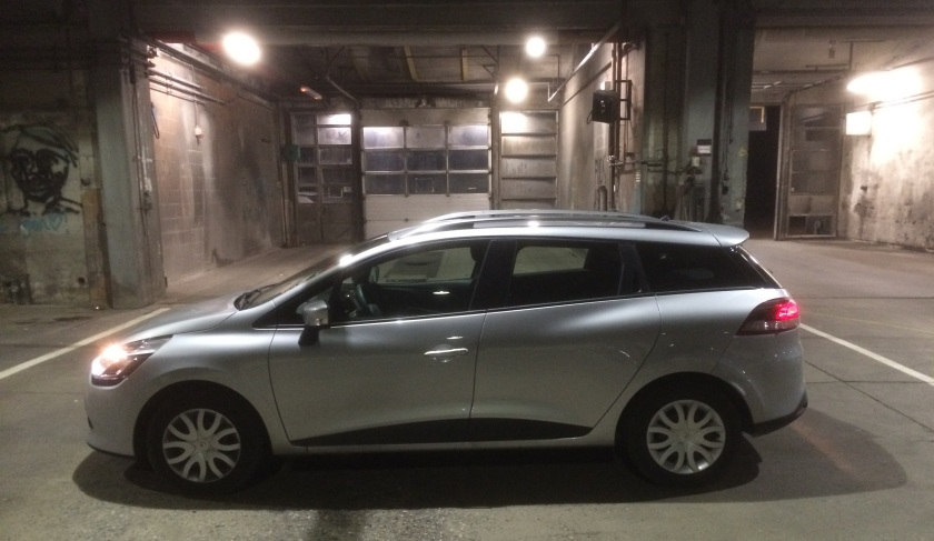 2015 Renault Clio dCi in the DTW garage.