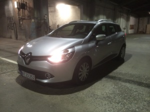 2015 Renault Clio garage front three q