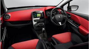 2015 Renault Clio Dynamiue. Note the HVAC controls which look less user friendly than the bog-standard model tested here.