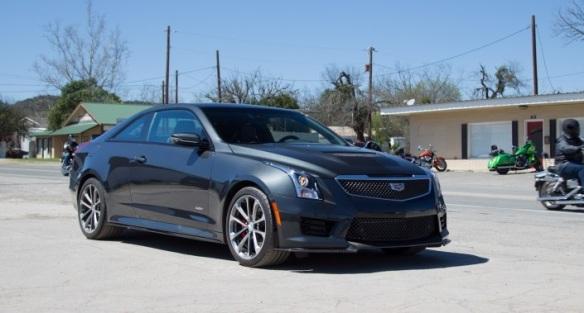 2015 Cadillac ATS-V. Image: car and driver