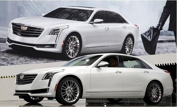 2016 Cadillac CT6 - another distinctive Cadillac name. Image: automotivenews.om
