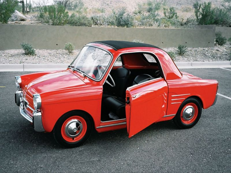 Autobianchi Bianchina : Image from photo-voiture.motorlegend.com