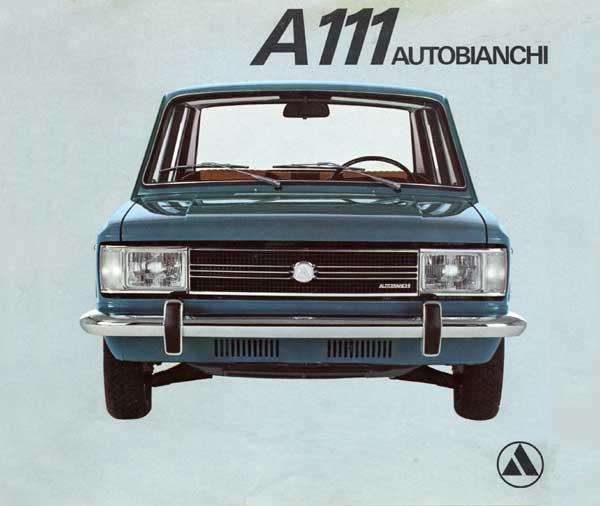 Autobianchi A111 - image via viva-lancia