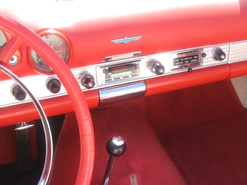 1955 Ford Thunderbird ashtray