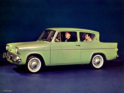 1959 Ford Anglia: Image credit: favcars