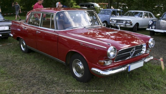1960 Borgward P100 - was this affordable luxury? Image: www.history-of-cars.com