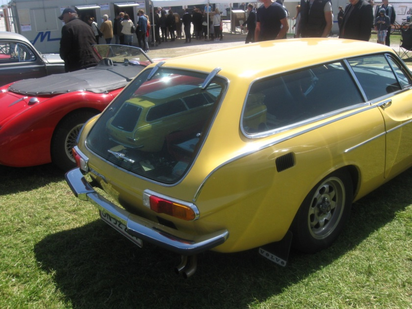 1972 Volve P1800 ES at the Classic Race, Aarhus, Denmark.
