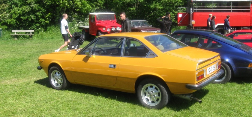 1973-1984 Lancia Beta coupe.