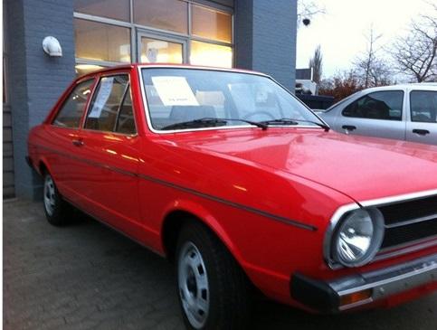 1976 Audi 80 front