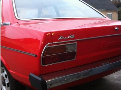 1976 Audi 80 rear corner detail