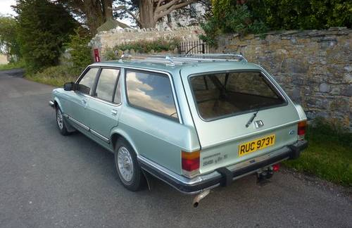 1983 Ford Granada it its biggest and best: carandclassic.co.uk