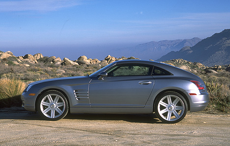 2003 Chrysler Crossfire. In 2003 it cost £1000 more than the faster Nissan 350Z: yakmee.com