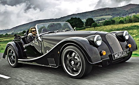 2012 Morgan V8. Plenty of saturation and contrast make this photo very hard to take seriously. Image: Daily Mail