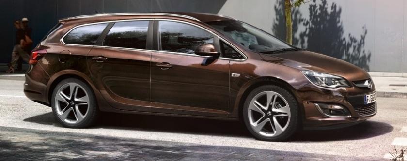 2015 Opel Astra estate: www.opel.de