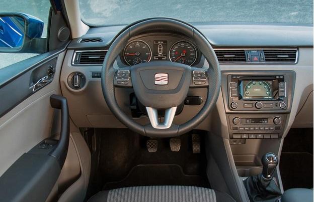 2015 Seat Toledo interior. Image from Autocar.co.uk