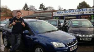 Another happy customer. Swan Motor Centre, Cowley, Oxford.