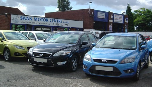 Used cars are available from the Swann Motor Centre in Cowley, Oxford.