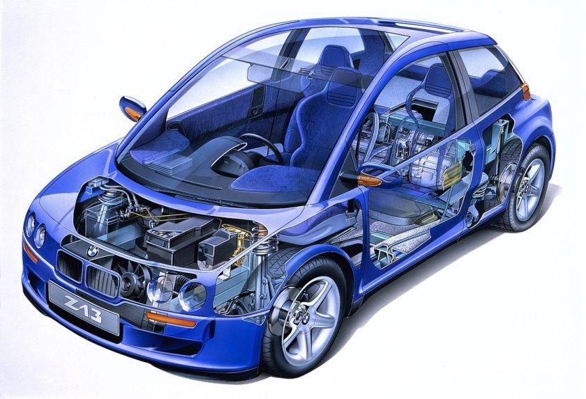 Z13 cutaway - image via diariomotor