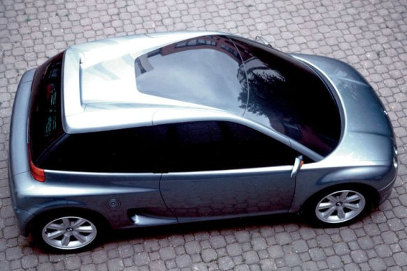 BMW's Mini-like Z13 - image via pixshark