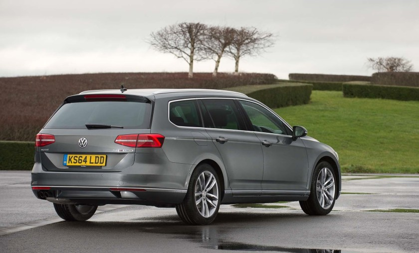 VW Passat Estate: VW UK