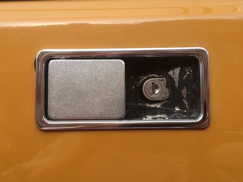 1971 Morris Marina doorhandle