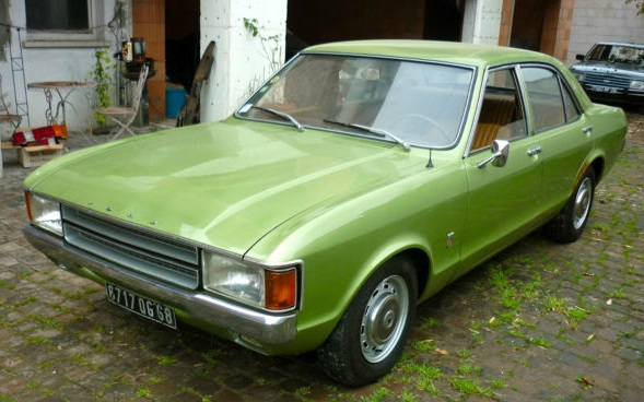 Hot to trot - the 1973 Ford Consul, a Granada by another name: mobile.de