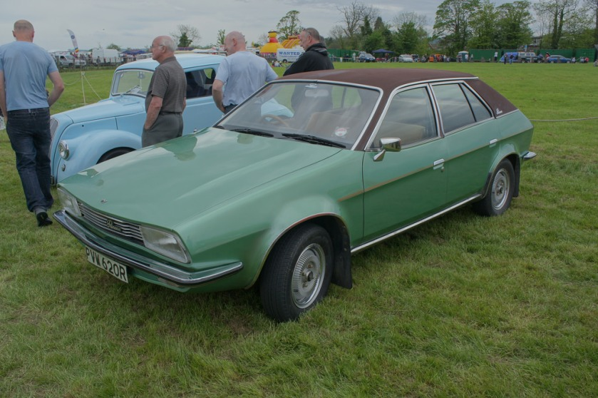 1976 Austin Princess green