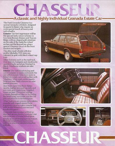 1980 Ford Granada chasseur ad