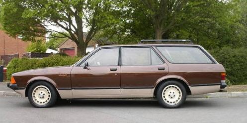 1980 Ford Granada Chasseur: carandclassic.co.uk