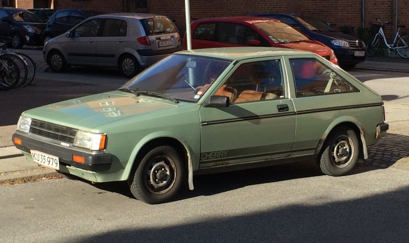 Captivation: 1982 Datsun Cherry