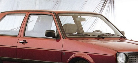 1983 VW Golf cantrail