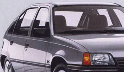 1984 Opel Kadett cant rail which set the standard: conceptcarz.com