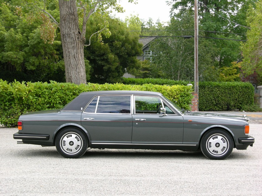 Very planet friendly - 1988 Rolls Royce Silver Spur: barret-jackson.com