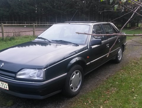 1990 Renault 25 2.9 V6 TX auto: bilbasen.dk